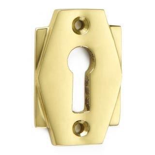 Art Deco Brass Escutcheon SE023