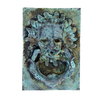 Cold Cast Wall Plaque - Fountain Head