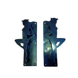 Custom Made Black Metal Handles CDFS09