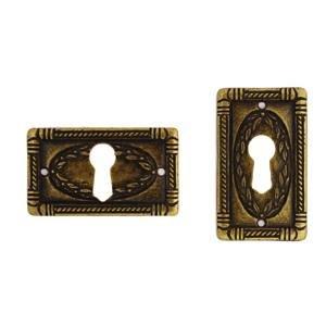 Anitique Brass Drawer / Cupboard Keyholes DP056