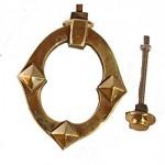 Victorian Brass Door Knocker ADK326