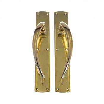 Reclaimed Empress Brass Door Pulls CFDS020