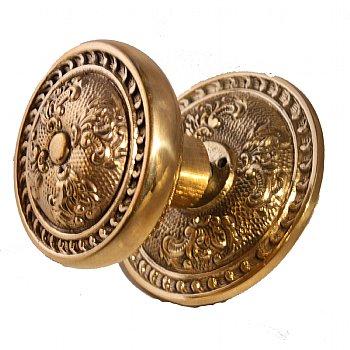Reclaimed Brasss Centre Door Knob ADH117
