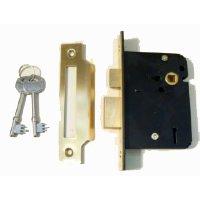 3 Lever Mortice Sash Lock ML004