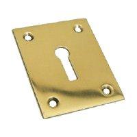 Large Rectangular Brass Escutcheon SES018