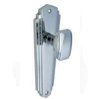 Art Deco Chrome Doorknobs