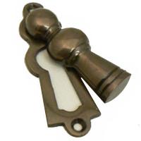 Brandling Aged Brass Keyhole