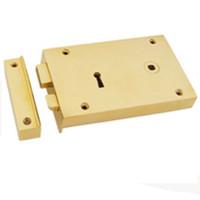 Carlisle Solid Brass Rim Lock_