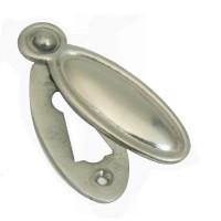 Edwardian Brushed Nickel Keyhole