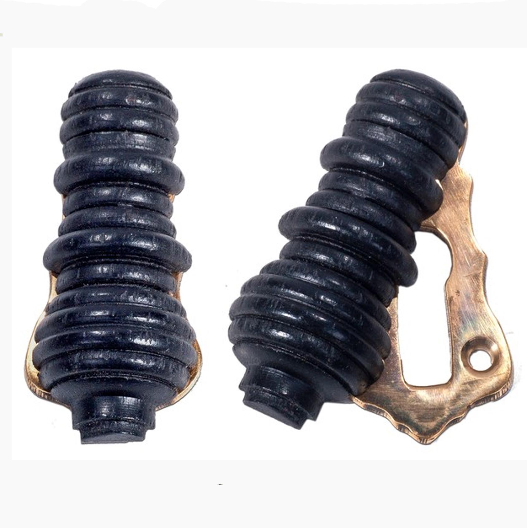 Hexham Ebonised & Brass Keyholes