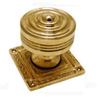 Pair Of Marbella Brass Door Knobs