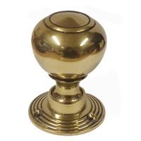 Pair Of Penrith Brass Door Knobs