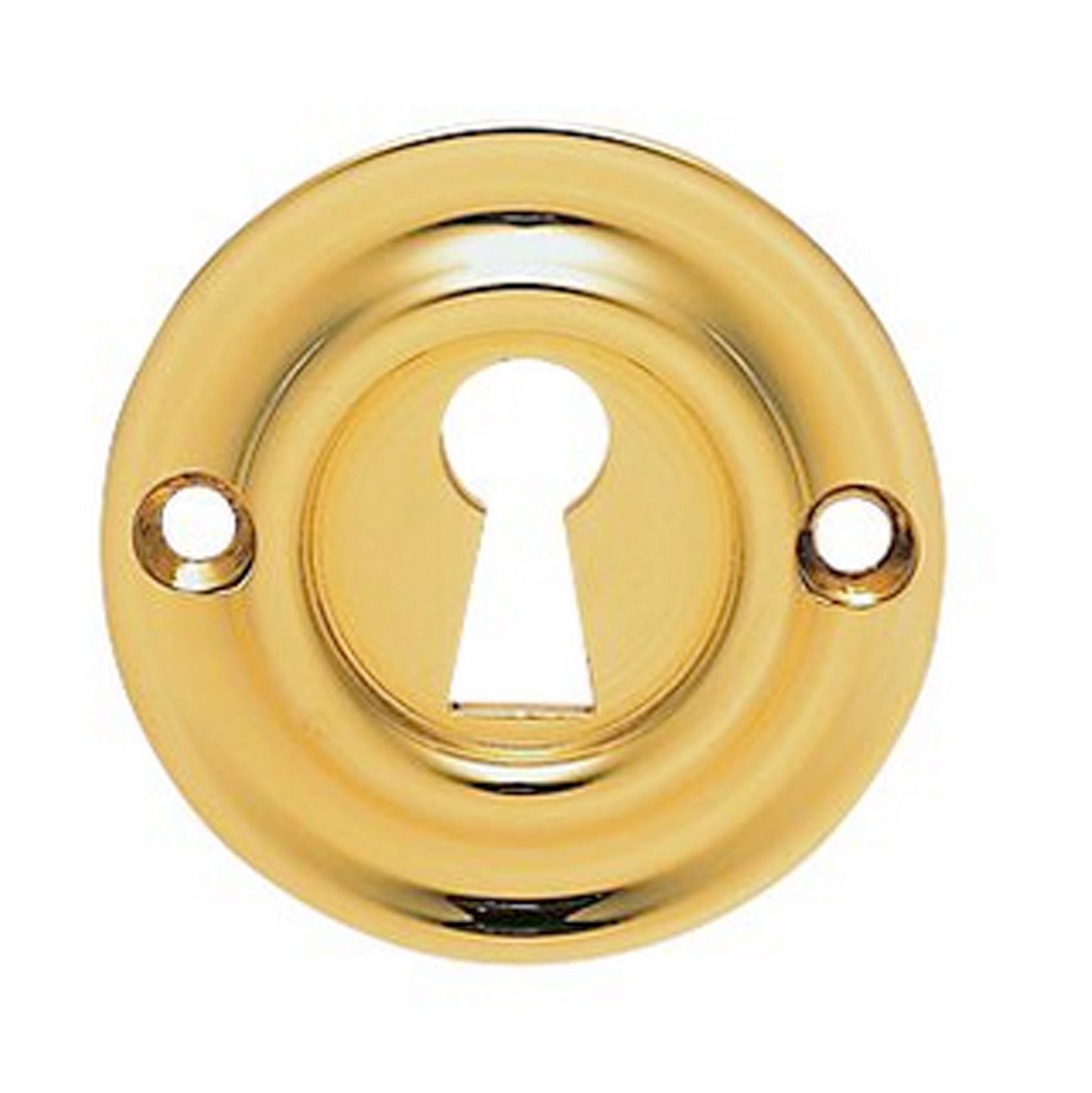 Stainless Brass Open Escutcheon