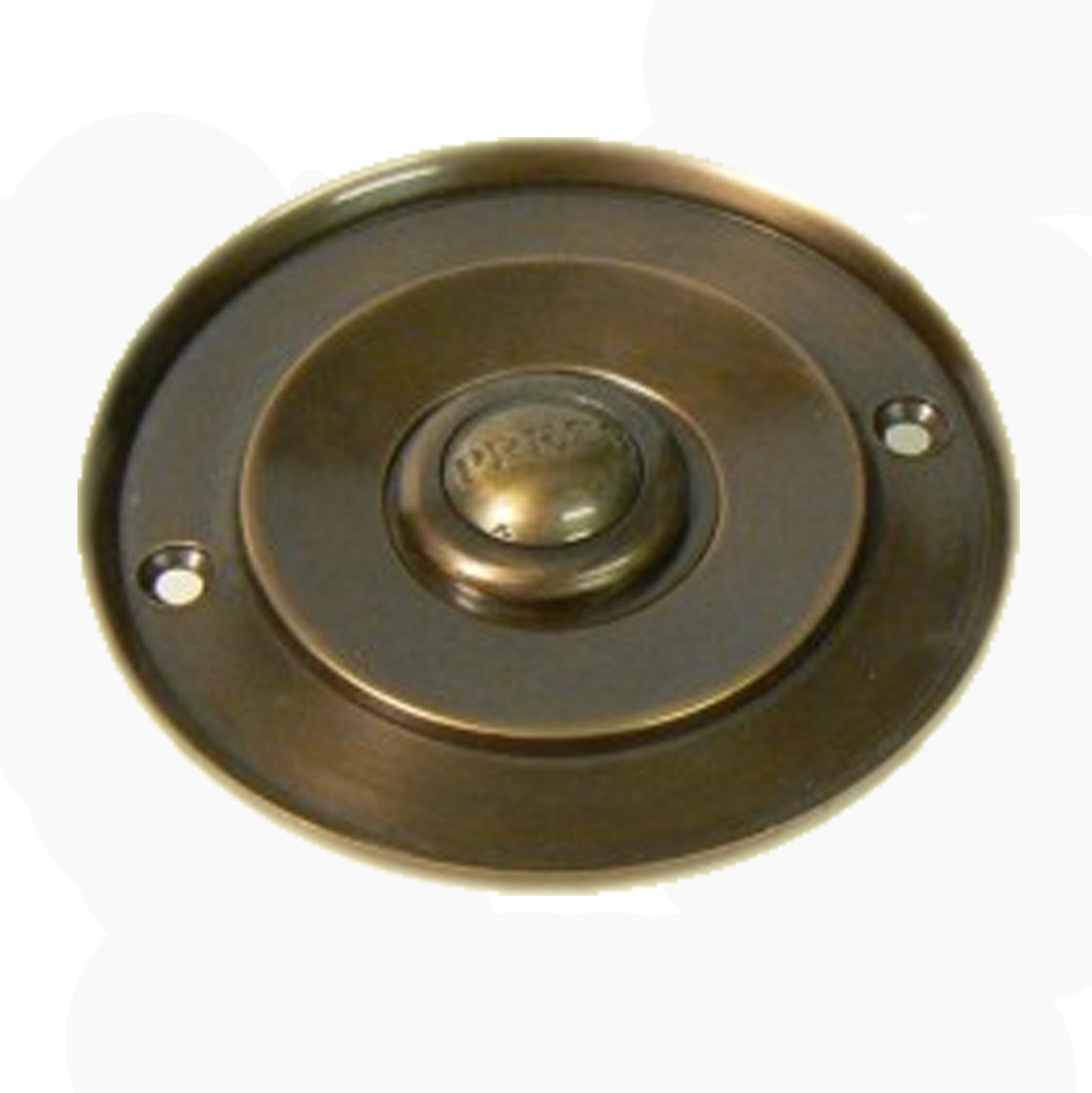 Victorian Applied Bronze Doorbell