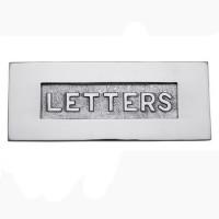 Victorian Chrome -Letters- Letterbox