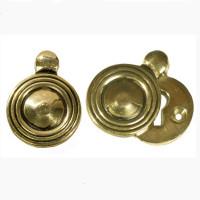 Wembley Brass Circular Keyhole