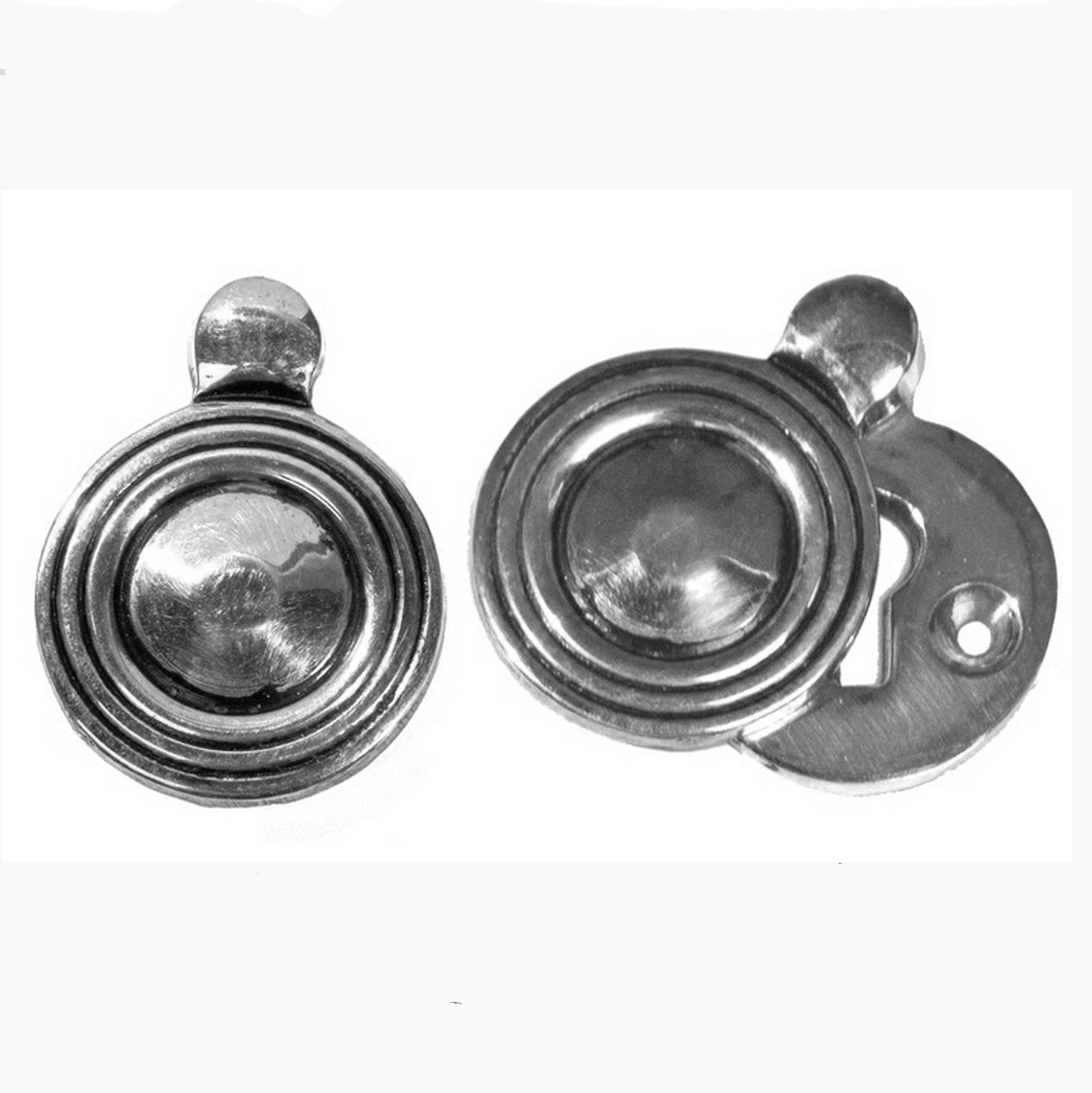 Wemley Chrome Circular Keyhole