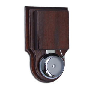 Wired Mahogany Wall Mounted Striker