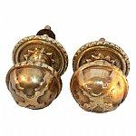Early Victorian Brass Door Knobs ACP0150