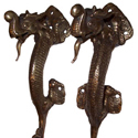 Antique Dragon Pull Handles ADP108