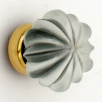 Frosted Glass Cupboard Knob