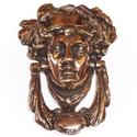Victorian Brass Medusa Knocker APK306