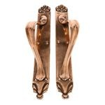 Art Nouveau Double Door Handles ADK40