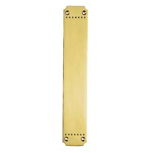 Brass Push Plates British Made