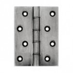 "Pewter Burr Door Hinges 4"" SKH030"