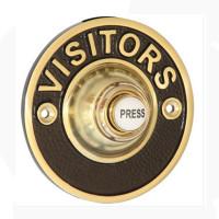 Visitors Brass Door Bell 76mm
