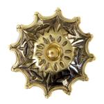 Brass Sunburst Front Door Bell UPCDB1