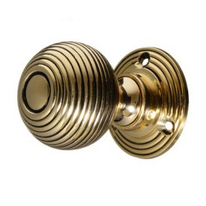 Bromley Brass Beehive Knobs