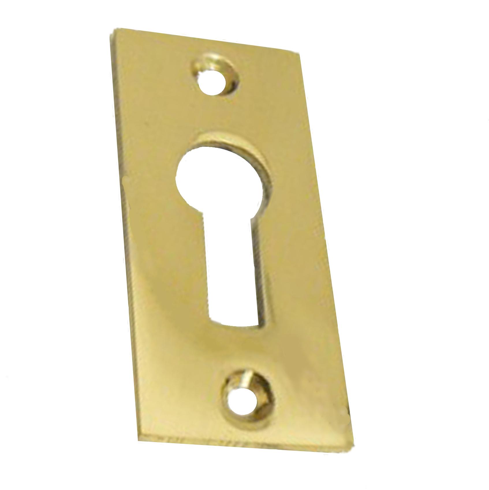 Brighton Brass Oblong Keyhole_