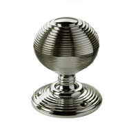 Alden Large Nickel Doorknobs