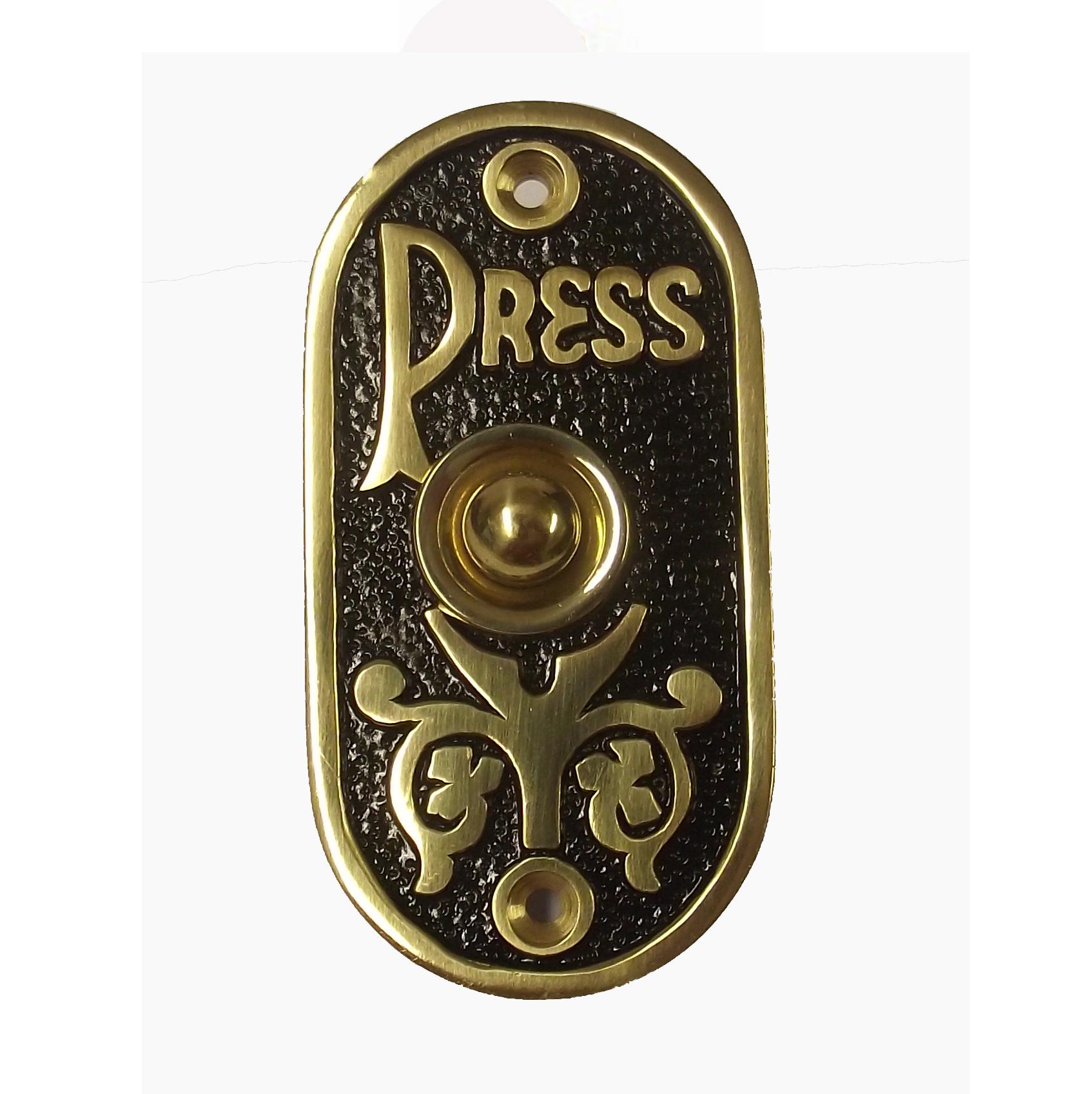 Belleville Brass Door Bell
