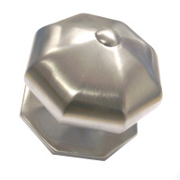 Cambridge Button Satin Centre Door Knob