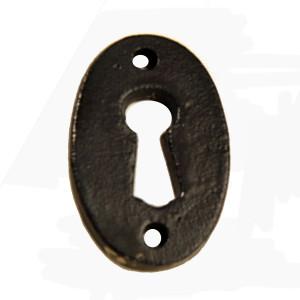 Cast Iron Front Door Escutcheon