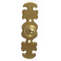 Oakleaf Brass Doorbell