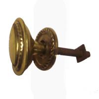 Oval Antique Cupboard Knob