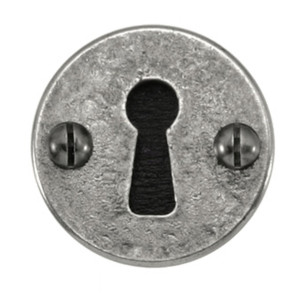 Pewter Keyhole Cover