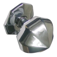 Polished Chrome Centre Door Knob