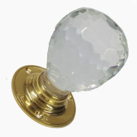 Westwood Crystal Cut Glass Mortice Knobs