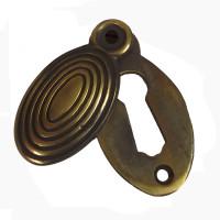 Aged Brass Escutcheon