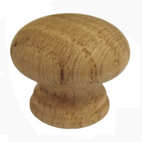 Oak 35mm Cupboard Knob